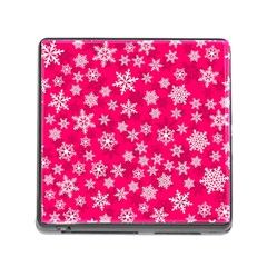 Winter Pattern 13 Memory Card Reader (square)