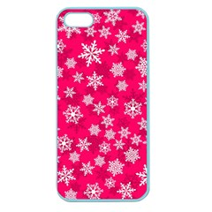 Winter Pattern 13 Apple Seamless Iphone 5 Case (color)