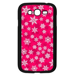 Winter Pattern 13 Samsung Galaxy Grand Duos I9082 Case (black)