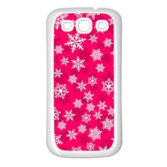 Winter Pattern 13 Samsung Galaxy S3 Back Case (white)