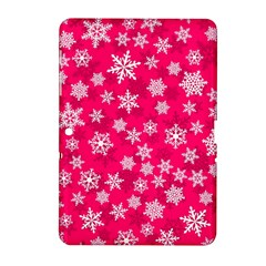 Winter Pattern 13 Samsung Galaxy Tab 2 (10 1 ) P5100 Hardshell Case