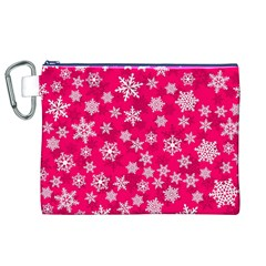 Winter Pattern 13 Canvas Cosmetic Bag (xl)