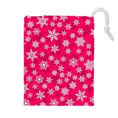Winter Pattern 13 Drawstring Pouches (extra Large)