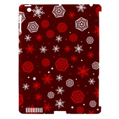 Winter Pattern 14 Apple Ipad 3/4 Hardshell Case (compatible With Smart Cover)