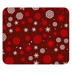 Winter Pattern 14 Double Sided Flano Blanket (small)