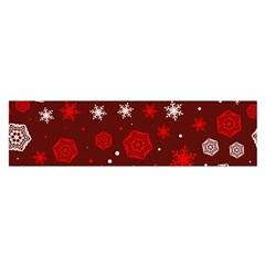 Winter Pattern 14 Satin Scarf (oblong)