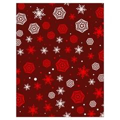 Winter Pattern 14 Drawstring Bag (large)