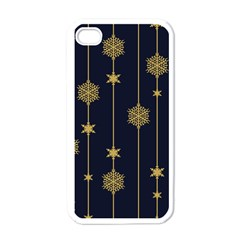 Winter Pattern 15 Apple Iphone 4 Case (white)
