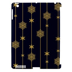 Winter Pattern 15 Apple Ipad 3/4 Hardshell Case (compatible With Smart Cover)