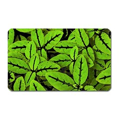 Nature Print Pattern Magnet (rectangular)