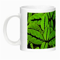 Nature Print Pattern Night Luminous Mugs