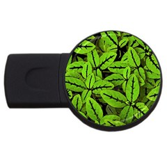 Nature Print Pattern Usb Flash Drive Round (4 Gb)