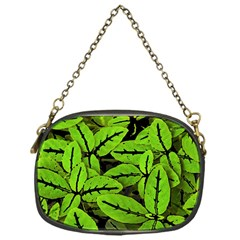 Nature Print Pattern Chain Purses (one Side)