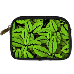 Nature Print Pattern Digital Camera Cases