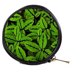 Nature Print Pattern Mini Makeup Bags