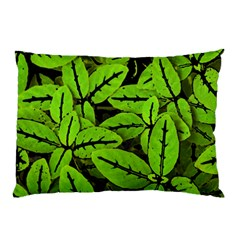Nature Print Pattern Pillow Case (two Sides)