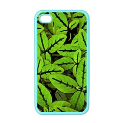 Nature Print Pattern Apple Iphone 4 Case (color)