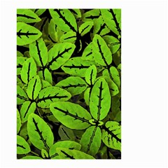 Nature Print Pattern Small Garden Flag (two Sides)