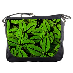 Nature Print Pattern Messenger Bags