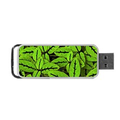 Nature Print Pattern Portable Usb Flash (two Sides)