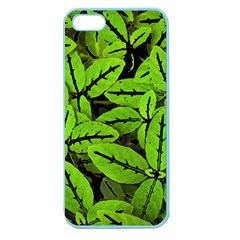 Nature Print Pattern Apple Seamless Iphone 5 Case (color)