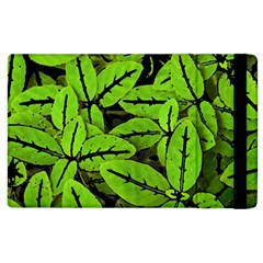 Nature Print Pattern Apple Ipad 3/4 Flip Case