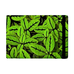 Nature Print Pattern Apple Ipad Mini Flip Case