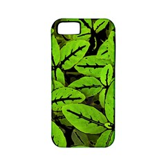 Nature Print Pattern Apple Iphone 5 Classic Hardshell Case (pc+silicone)