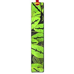 Nature Print Pattern Large Book Marks