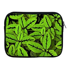 Nature Print Pattern Apple Ipad 2/3/4 Zipper Cases