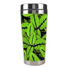 Nature Print Pattern Stainless Steel Travel Tumblers