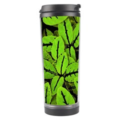 Nature Print Pattern Travel Tumbler