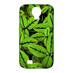 Nature Print Pattern Samsung Galaxy S4 Classic Hardshell Case (pc+silicone)
