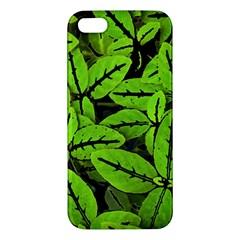 Nature Print Pattern Iphone 5s/ Se Premium Hardshell Case