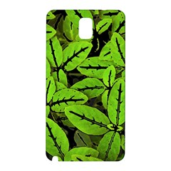 Nature Print Pattern Samsung Galaxy Note 3 N9005 Hardshell Back Case