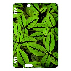 Nature Print Pattern Kindle Fire Hdx Hardshell Case