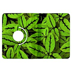 Nature Print Pattern Kindle Fire Hdx Flip 360 Case