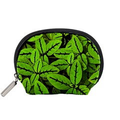 Nature Print Pattern Accessory Pouches (small)