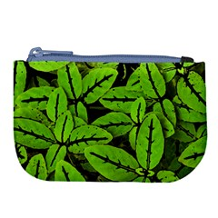Nature Print Pattern Large Coin Purse