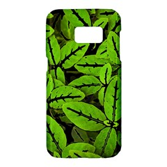 Nature Print Pattern Samsung Galaxy S7 Hardshell Case