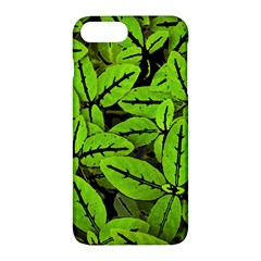 Nature Print Pattern Apple Iphone 7 Plus Hardshell Case