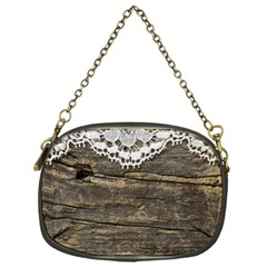 Shabbychicwoodwall Chain Purses (one Side)