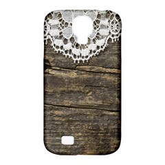 Shabbychicwoodwall Samsung Galaxy S4 Classic Hardshell Case (pc+silicone)