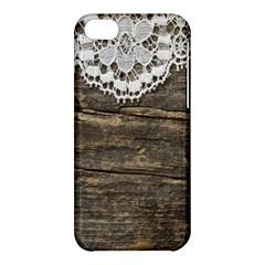 Shabbychicwoodwall Apple Iphone 5c Hardshell Case