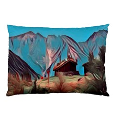 Modern Norway Painting Pillow Case