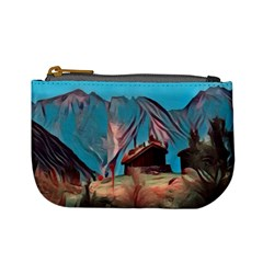 Modern Norway Painting Mini Coin Purses