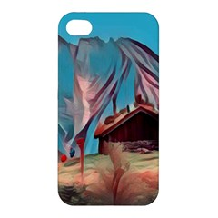 Modern Norway Painting Apple Iphone 4/4s Premium Hardshell Case