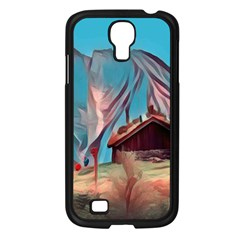 Modern Norway Painting Samsung Galaxy S4 I9500/ I9505 Case (black)