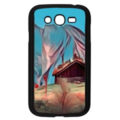 Modern Norway Painting Samsung Galaxy Grand Duos I9082 Case (black)