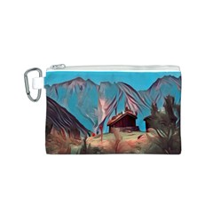Modern Norway Painting Canvas Cosmetic Bag (s)